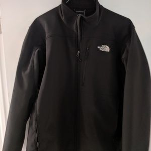 North face water repellent shell jacket